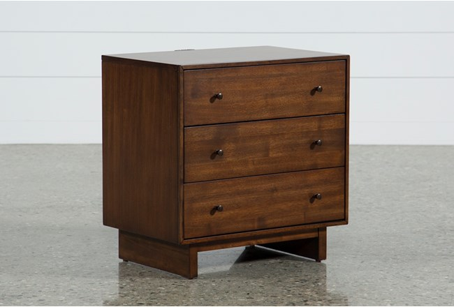 Maverick Drawer Nightstand With USB - 360