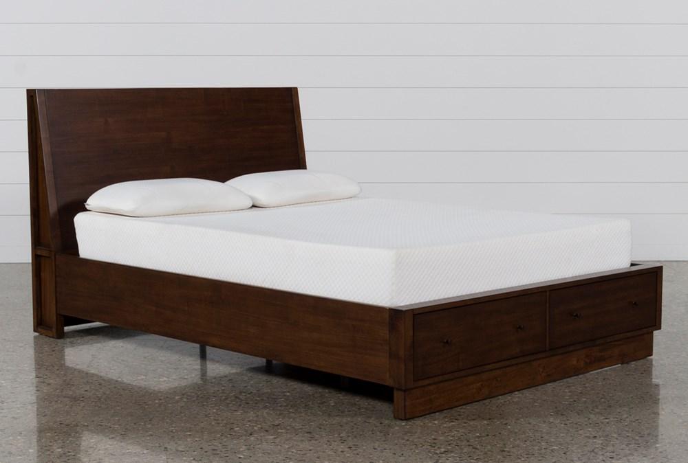 Maverick California King Panel Bed W/Storage