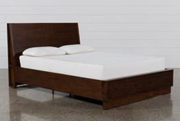Maverick California King Panel Bed W/Storage