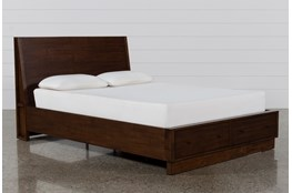 Maverick Eastern King Panel Bed W/Storage