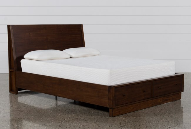 Maverick Eastern King Panel Bed W/Storage - 360