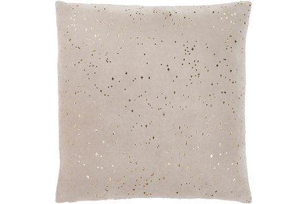 Accent Pillow-Gold Stardust 22X22