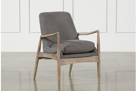 Smoked Grey Club Chair - Main