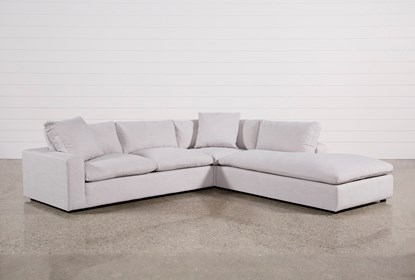 Fantastic Haven 3 Piece Sectional With Right Arm Facing Bumper Chaise Download Free Architecture Designs Sospemadebymaigaardcom
