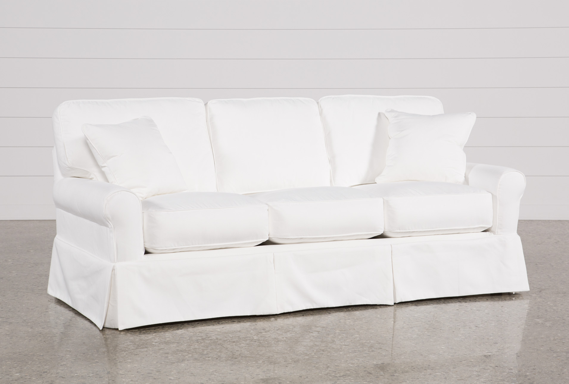 Carlyle Slipcovered Sofa Living Spaces