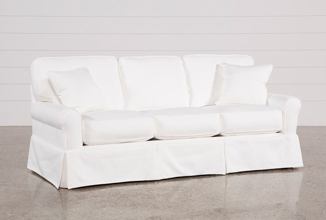 Carlyle Slipcovered Sofa - 360