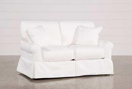 Carlyle Slipcovered Loveseat