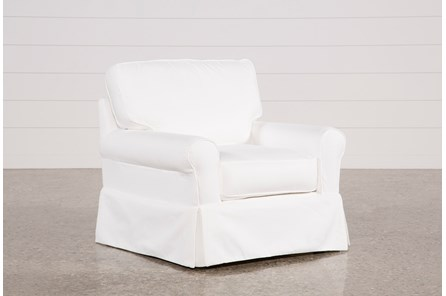 Carlyle Slipcovered Chair - Main