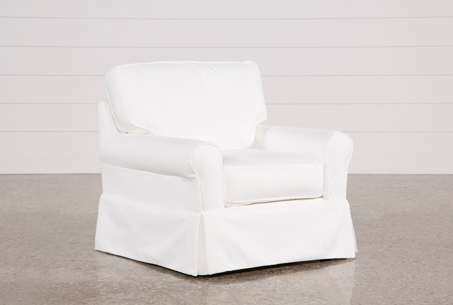 Carlyle Slipcovered Chair - 360