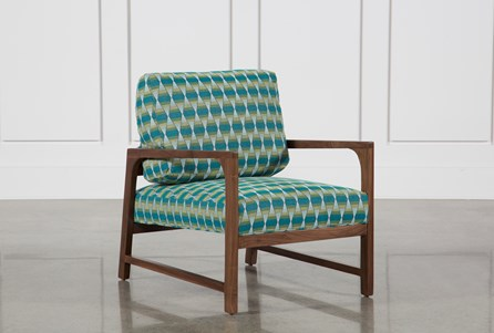 Felicity Wood Accent Chair