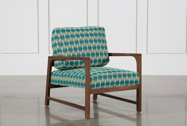 Felicity Wood Accent Chair - 360