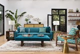 Felicity Wood Accent Chair - Room