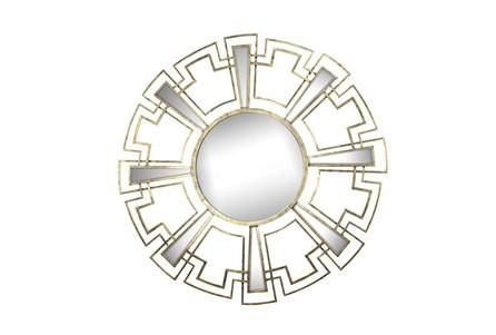 Mirror - Gold Round 46X46