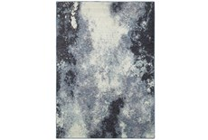 79X114 Rug-Marshall Ink Blue