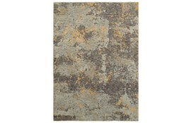 "1'9""x3'2"" Rug-Marshall Slate And Butter"