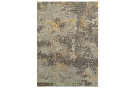 63X87 Rug-Marshall Slate And Butter