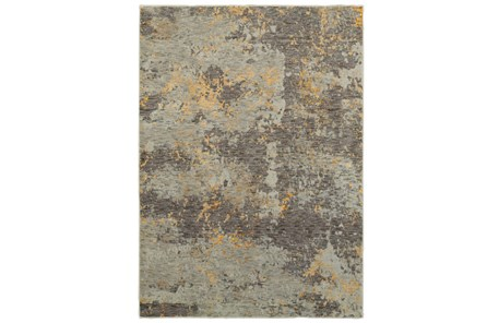 102X139 Rug-Marshall Slate And Butter