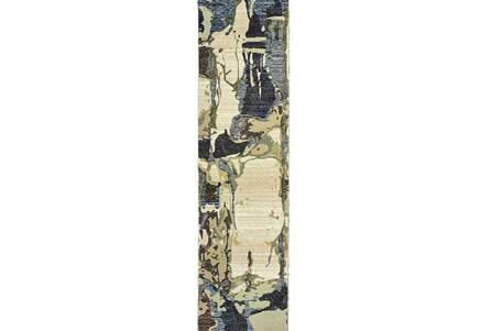 27X96 Rug-Marshall Taupe And Slate