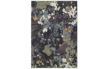 "1'9""x3'2"" Rug-Marshall Blue And Fern"