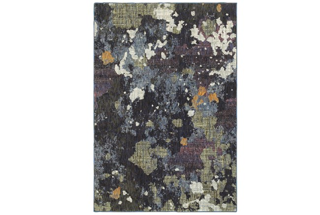 63X87 Rug-Marshall Blue And Fern - 360