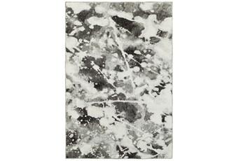 39X62 Rug-Marshall Black And White