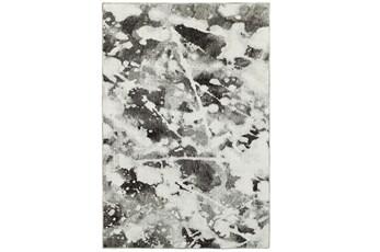 63X87 Rug-Marshall Black And White