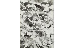 79X114 Rug-Marshall Black And White