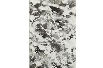 79X114 Rug-Marshall Black And White