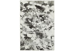 94X130 Rug-Marshall Black And White