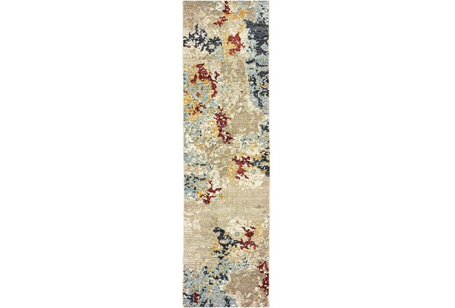 27X96 Rug-Marshall Stone And Blue - 360