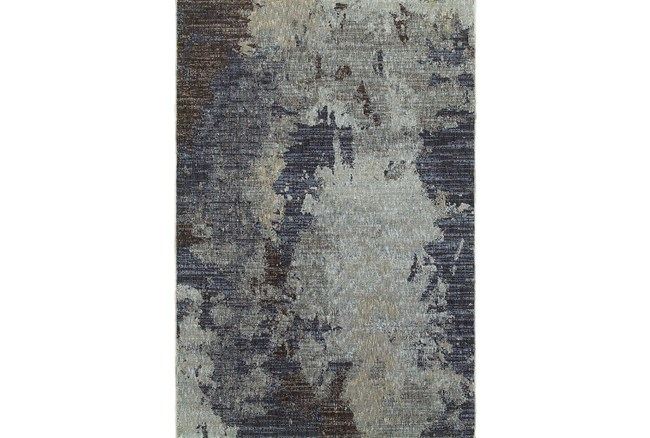 63X87 Rug-Marshall Steel Blue - 360