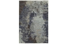 94X130 Rug-Marshall Steel Blue