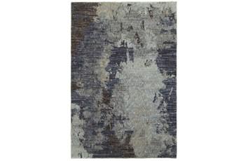 94X130 Rug-Marshall Steel Blue