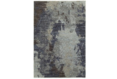 102X139 Rug-Marshall Steel Blue