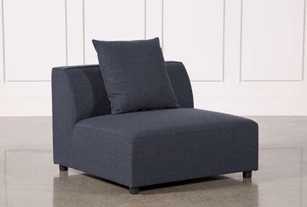 Clayton Dark Grey Armless Chair
