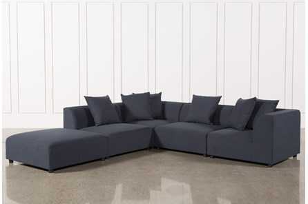 living room sectionals. Clayton Dark Grey 5 Piece Sectional Sectionals  Sofas Free Assembly with Delivery Living