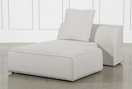 Maggie Light Grey Left Facing Chaise