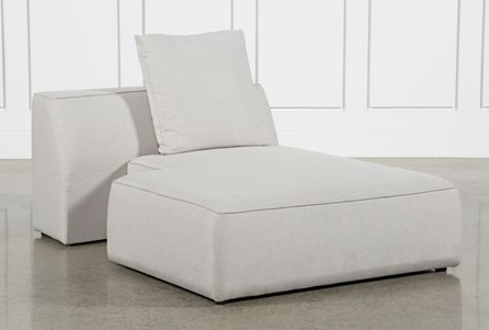 Maggie Light Grey Right Facing Chaise