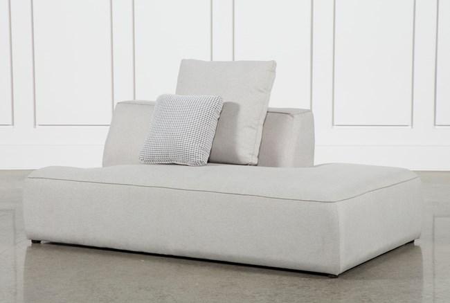 Maggie Light Grey Right Facing Sofa - 360