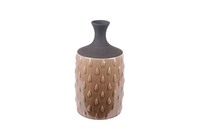 Cocoa Drop Ceramic Vase Tall - 360