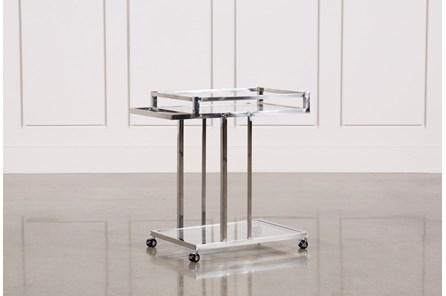 Metal And Glass Bar Cart - Main