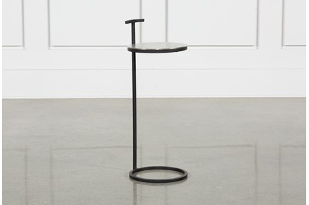 Black Metal Side Table - Main