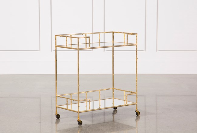 Gold Bar Cart - 360