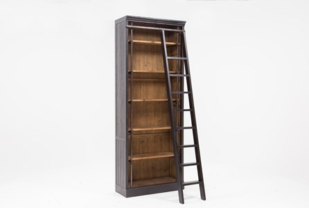 Barton Bookcase With Ladder