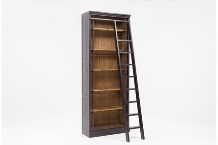 Barton Bookcase With Ladder - Main