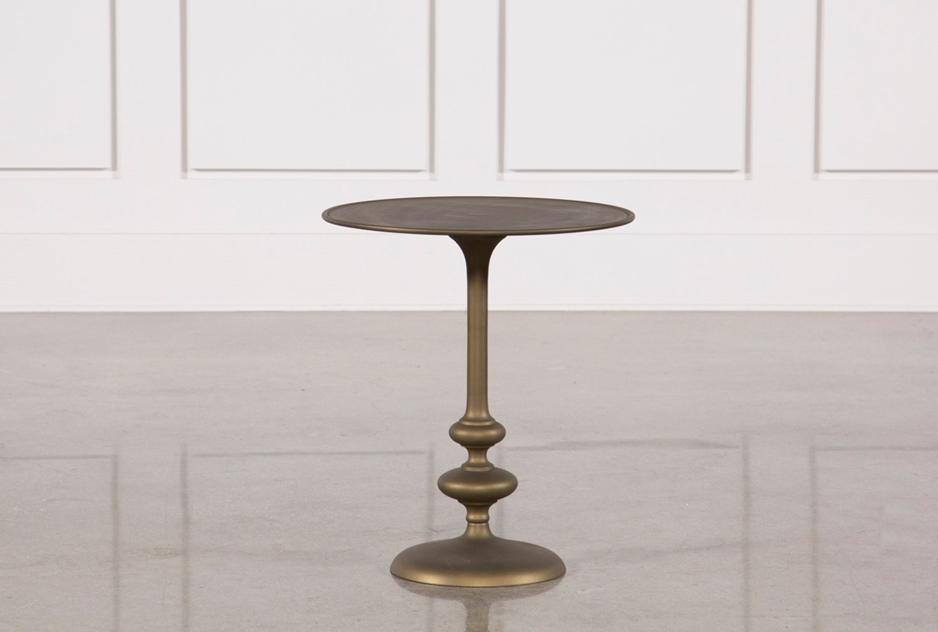 Lily pedestal accent table qty 1 has been successfully added to your cart