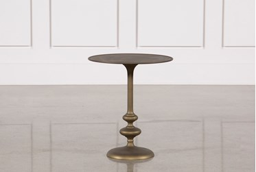 Lily Pedestal Accent Table