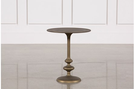 Lily Pedestal Accent Table - Main