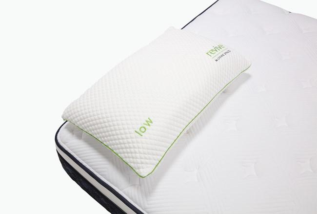 Glacier Gel Pillow-Low Profile Queen - 360