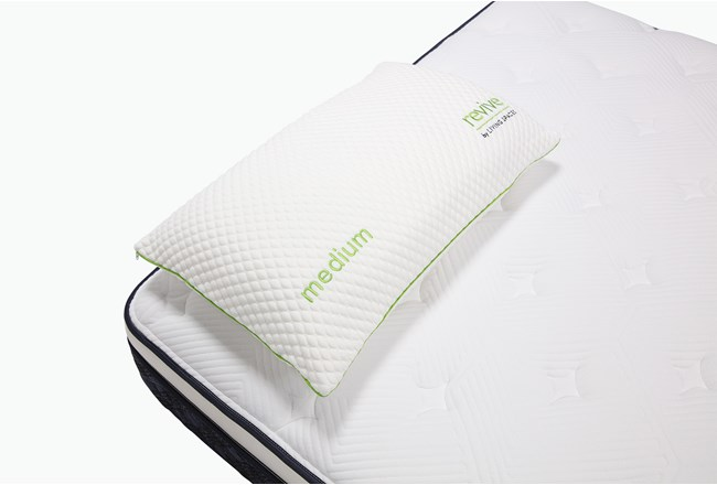 Glacier Gel Pillow-Medium Profile Queen - 360
